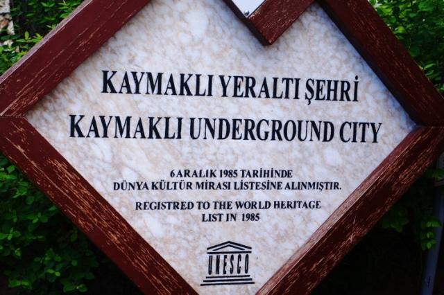 Underground City, Kaymakli, Cappadocia, Turkey, Nevsehir