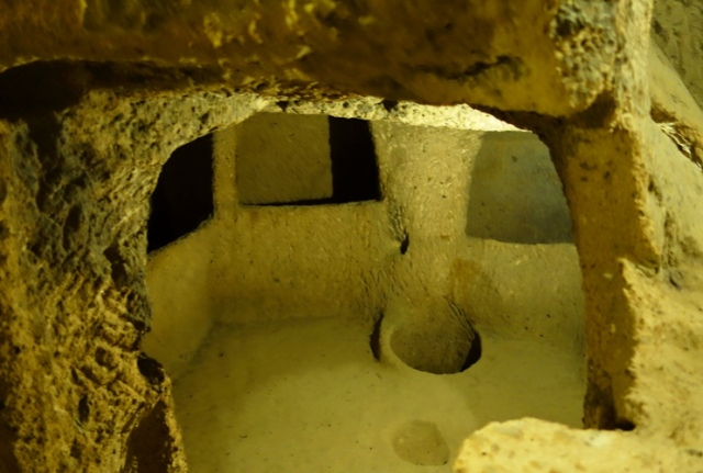 Kaymakli Underground City, Nevsehir Province, Cappadocia, Turkey