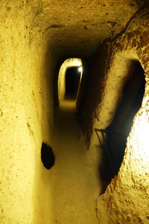 Underground City, Turkey, Nevsehir Province, Kaymakli, Tunnels