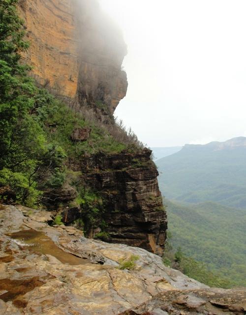 Cliff Wall, Blue Mountains, Katoomba, Australia, Scenic Wonders