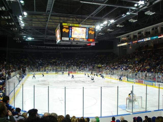 Stockton Thunder, First Season, Stockton Arena, Full Crowd, ECHL