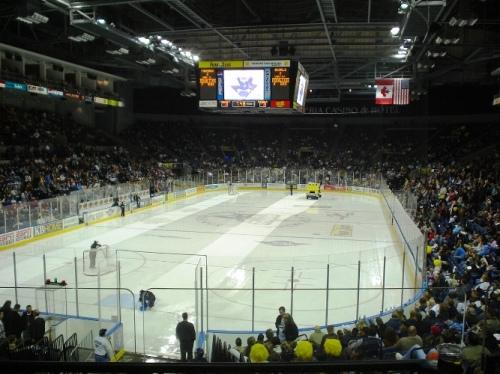 Zamboni, Cleaning Ice, Hockey, Stockton Arena, AHL, ECHL