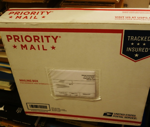 Priority Mail, Book, Mailbox