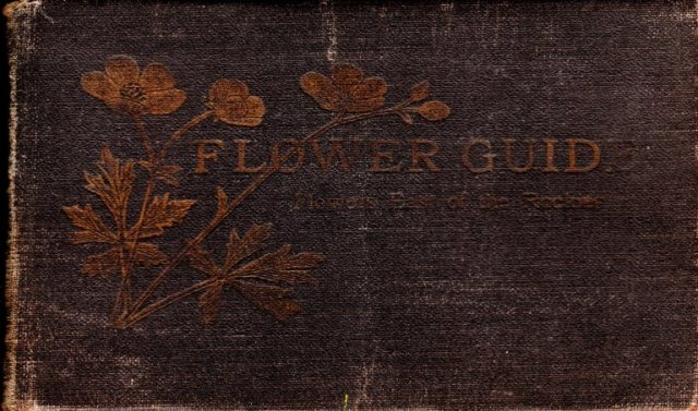Flower Guide, Wild Flowers East of the Rockies, Chester A. Reed, Nature Guide