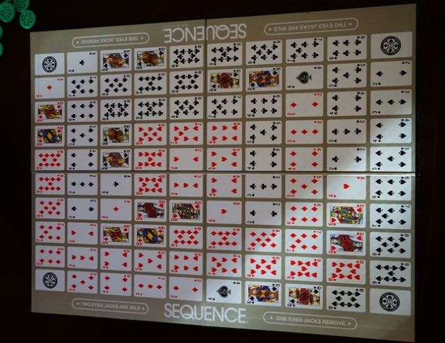Sequence Board Game, Board Game, Poker Chips, Playing Cards