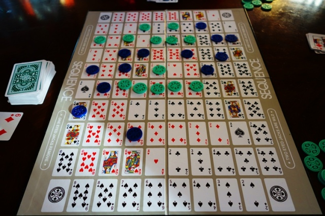 Sequence Board Card Game, Playing Cards, Poker Chips, Jax Ltd, Douglas Reuter