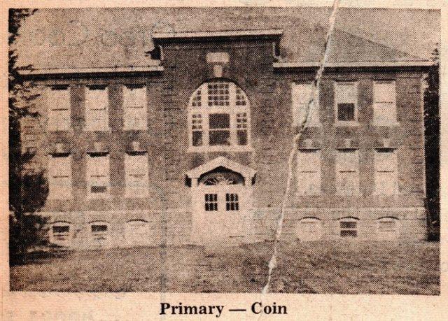 Coin Iowa, Grade School, South Page Community Schools