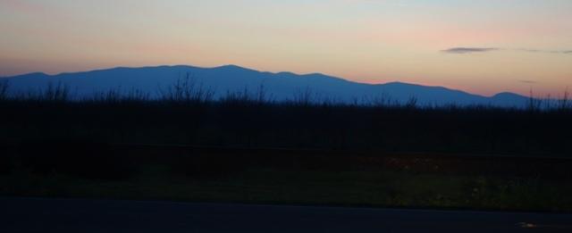 Sunset, California, Patterson Hills, California sunset