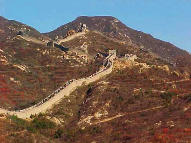 Badaling, Great Wall of China, Ming Dynasty Wall, Reconstructed Wall