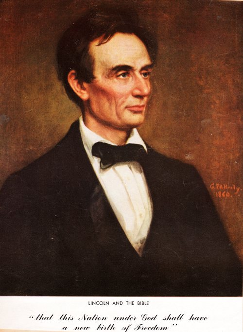 Lincoln and the Bible, Nation Under God, Lincoln's Birthday, President Lincoln