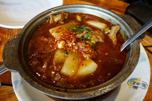 Beef Soup, Chinese Food, Koi Palace Express, Chinese New Year Lunch