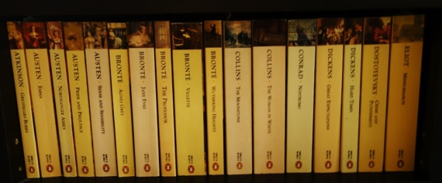 Penguin Popular Classics, Paperbacks, Penguin Books, European Books, Used Books