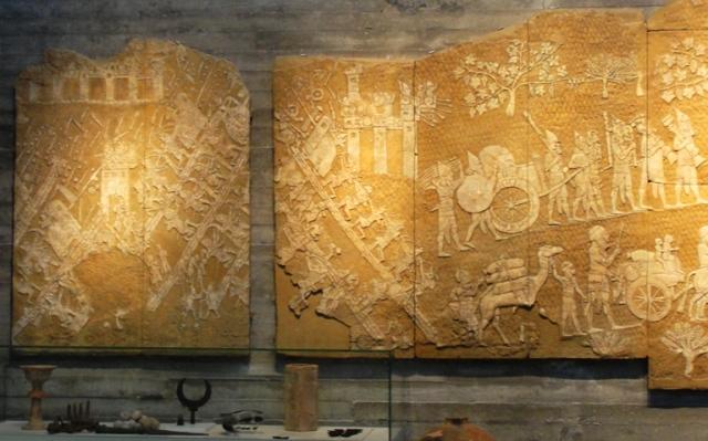 Lachish Reliefs, Israel Museum, British Museum, Ninevah, Sennacharib
