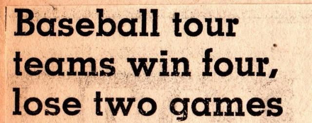Baseball Tour, Town Team Baseball, Iowa, Hamburg, Summer Baseball