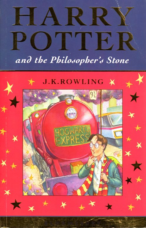 Harry Potter and the Philospher's Stone, Book Editions, J. K. Rowling, Hogwarts Express