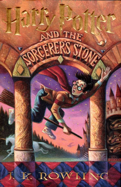 Harry Potter, J.K. Rowling, Sorcerer's Stone, Book Editions