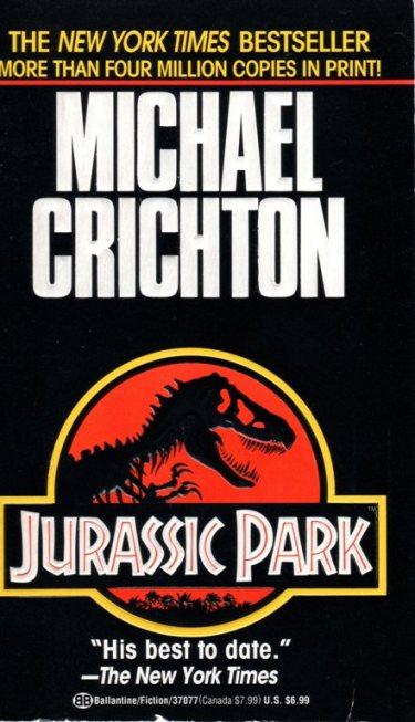 Jurassic Park, Michael Chrichton, The Lost World, Dinosaurs