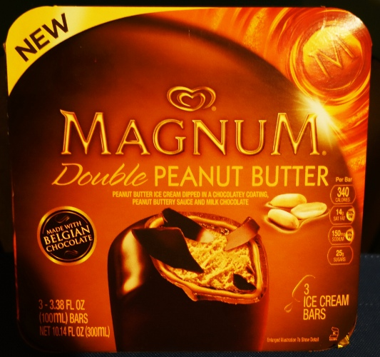 Magnum Double Peanut Butter, Ice Cream Bars, Belgian Chocolate