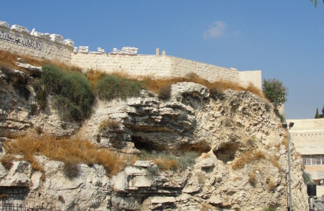 Place of the Skull, Golgotha, Gordon's Calvary, Nose Fell Off