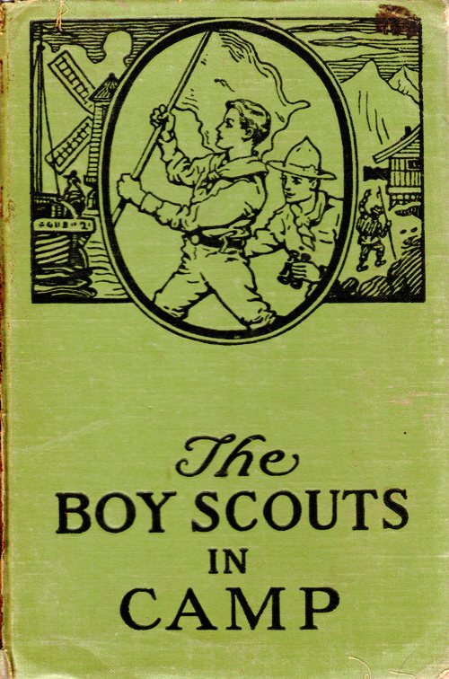 Boy Scouts in Camp, George Durston, Saalfield Publishing Company