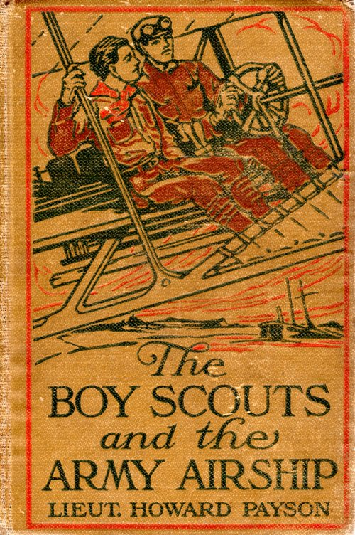 The Boy Scouts and the Army Airship, Lieut Howard Payson, John Henry Goldfrap