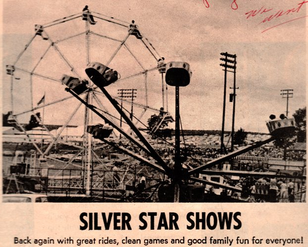 Carnival, Malvern Iowa, Silver Star Shows, 4th of July