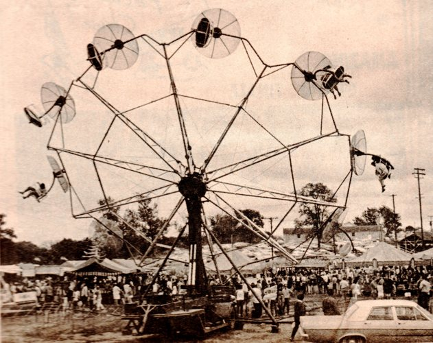 Silver Star Shows, Malvern, Iowa, Carnival, 1970's