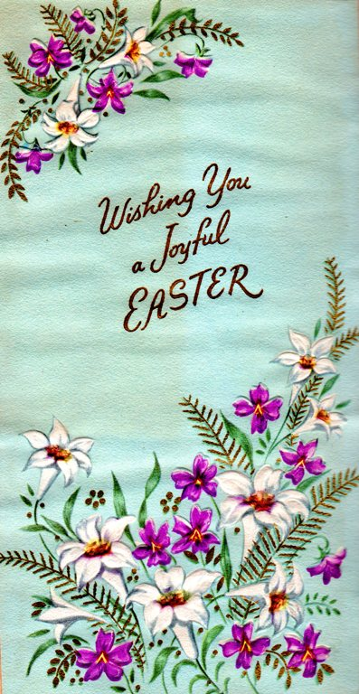 Joyful Easter, Easter Greeting, Resurrection, Empty Tomb