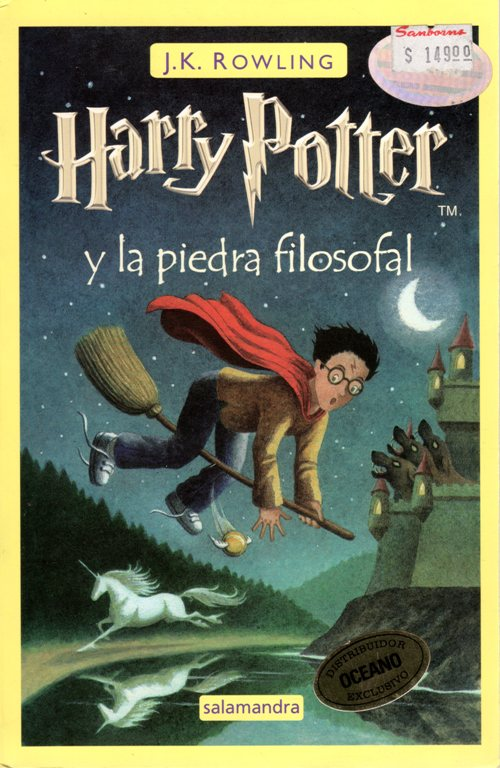 Harry Potter y la piedra filosofal, J. K. Rowling, Books, Harry Potter, Spanish
