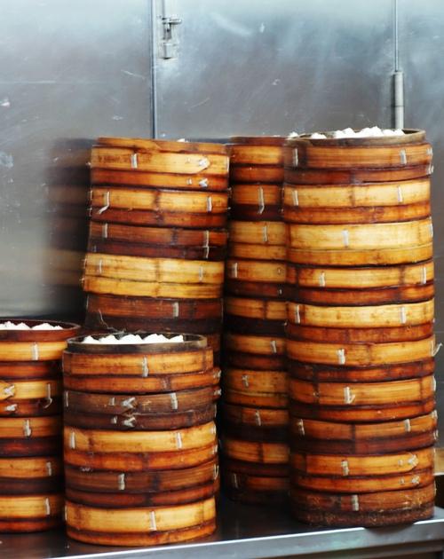 Shanghai Dumplings, Yue Yuan Garden, Old City Shanghai, Steamers