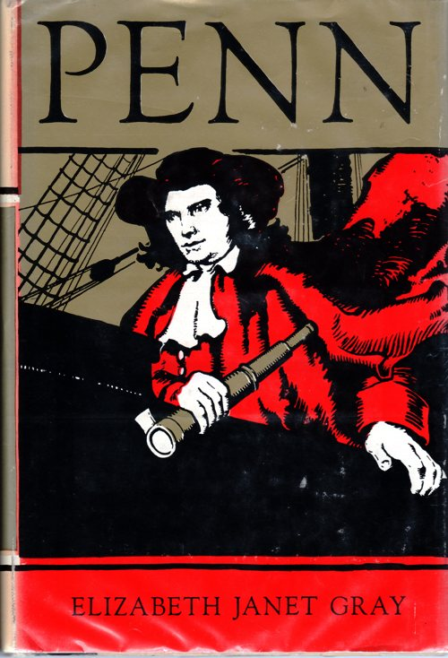 William Penn, Biography, Newbery Books, Newbery Runner-up, Elizabeth Janet Gray