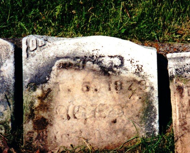 Orsamus Braman, Tombstone, Cemetery, Rome Wisconsin, Genealogy