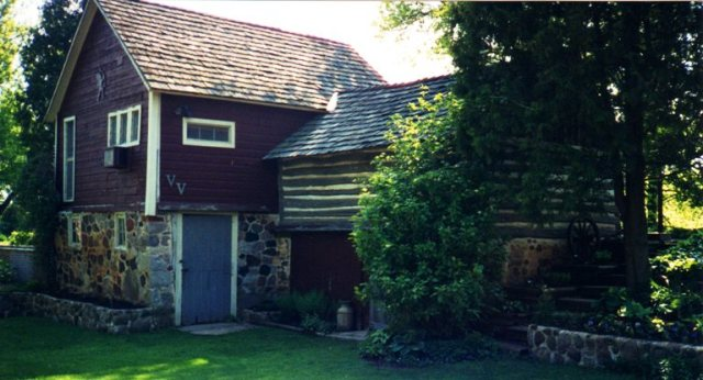 Old Barn, Rome Wisconsin, Orsamus Braman, Ancestor's Property