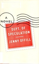 Department of Speculation, Jenny Offill, Pulitzer?