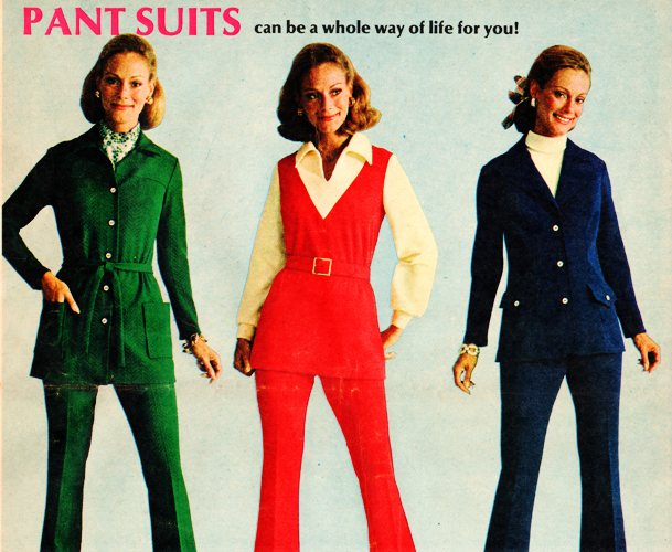 Pant Suits, Younkers, Walden Classics, Classic Ads