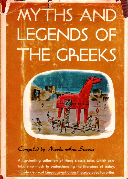 Myths, Legends, Greeks, Nicola Ann Sissons