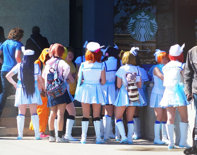 Anime North, Anime, School Girls, Anime Convention