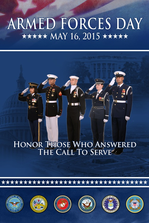 Armed Forces Day 2015, Army, Navy, Coast Guard, Marine Corps, Air Force