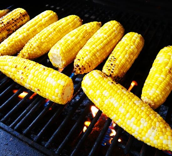 Grilled Corn, BBQ Corn, Birthday Feast