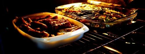 Filipino Food, Warming up Food, Oven, Lumpia