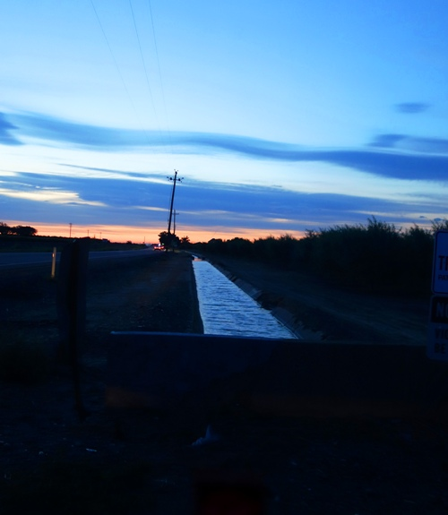 Irrigation channel, Ag Country, Orchard Country, Agriculture, Water, drought