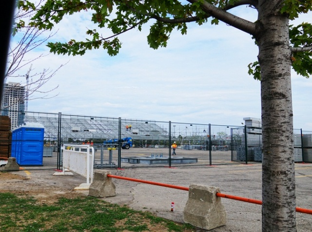 Pan Am Games, Volleyball Venue, Construction Job