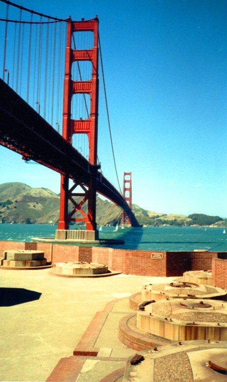 Fort Point, San Francisco, Golden Gate, Civil War, Castillo de San Joaquin