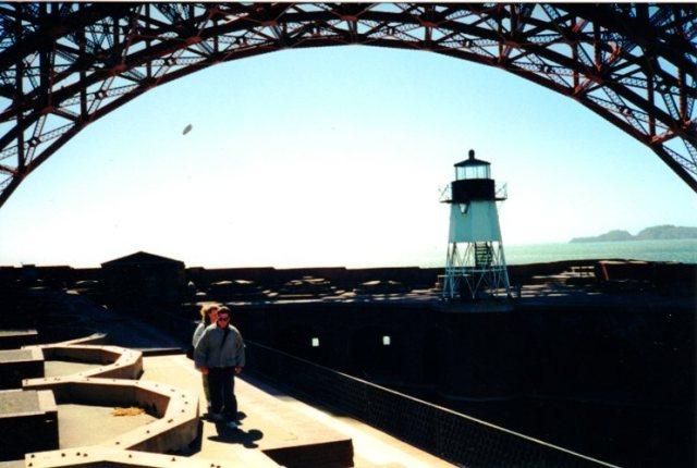 Fort Point, Golden Gate Bridge, Castillo de San Joaquin, General Johnston
