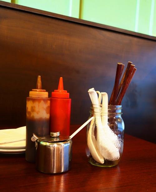Condiments, WonderPho, Vietnamese Food, Pho, Plum Sauce, Siracha