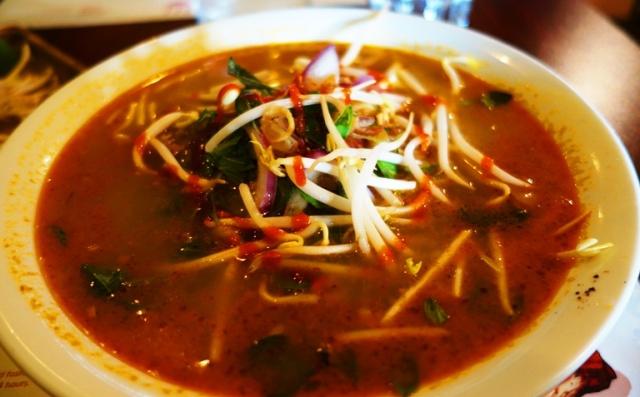 Pho Ca Ri, Vietnamese Soup, Pho, Coconut Milk, Tumeric, galangal spice