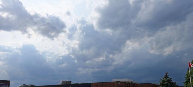 Cloudy Sky, Thunderstorms, Toronto, Canada