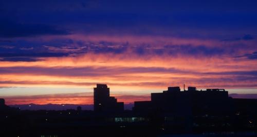 Toronto Canada sunset, Colorful Sky, Skyline Sunset