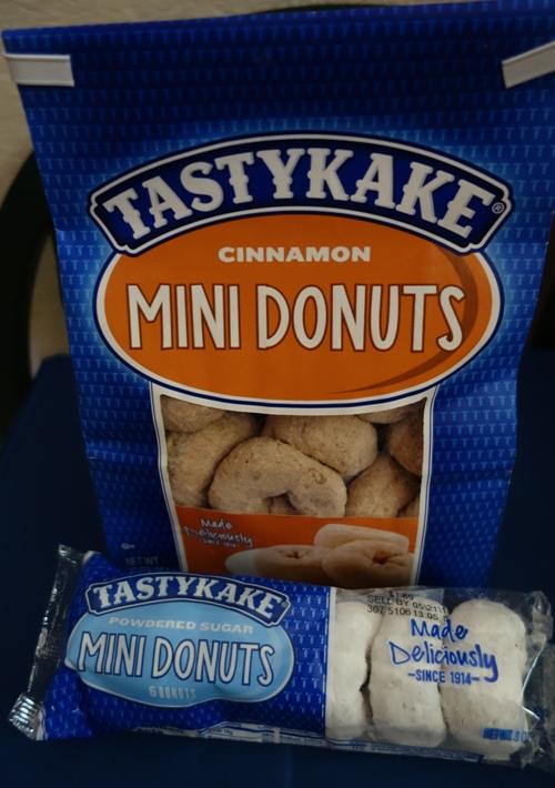 Tastykake, Mini Donuts, Cinnamon Donuts, White Donuts, Snack Cakes, Flowers Foods