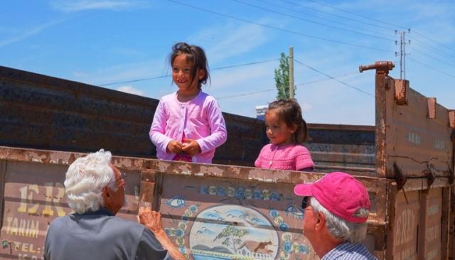 Turkish Children, Country, village children, Turkey